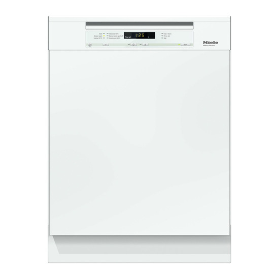 Miele G6200SCi Full-size Semi-integrated Dishwasher