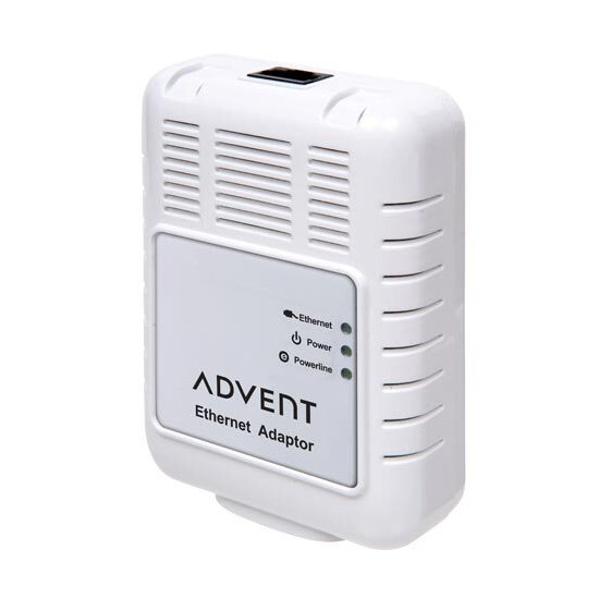 Advent 85 Mbps Powerline Ethernet Adapter