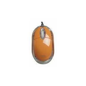 Photo of Saitek PM09O Orange Mouse Computer Peripheral