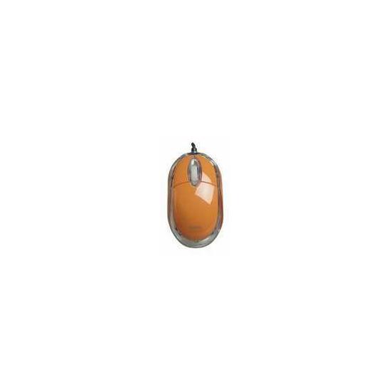 Saitek PM09O Orange Mouse