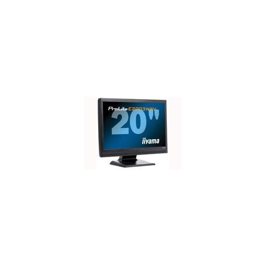 E2003WSV-B1/20.1 LCD TCO99 Black