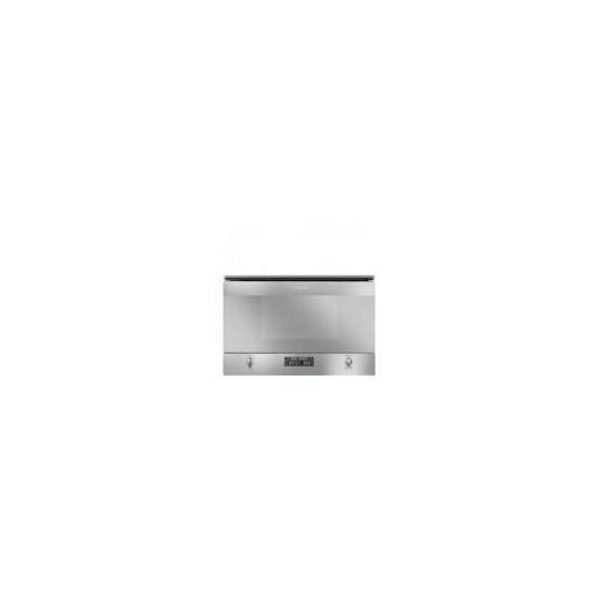 Smeg MP422X Cucina Built-in Microwave Oven With Grill Stainless Steel