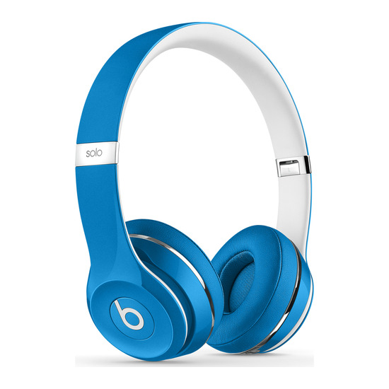 Beats by Dr. Dre Solo 2 Headphones - Luxe Edition Blue