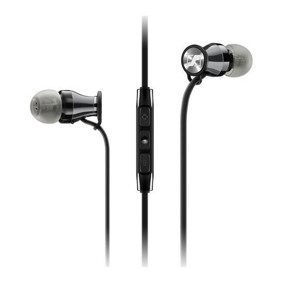 Sennheiser Momentum 2.0 IEi Headphones - Black & Chrome