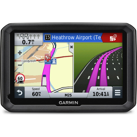 "GARMIN 770LMT-D Truck 7"" Sat Nav - with UK, ROI & Full Europe Maps"