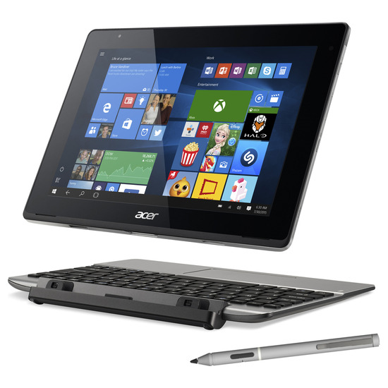 "Acer Aspire Switch 10 V 10.1"" 2 in 1 - Silver"