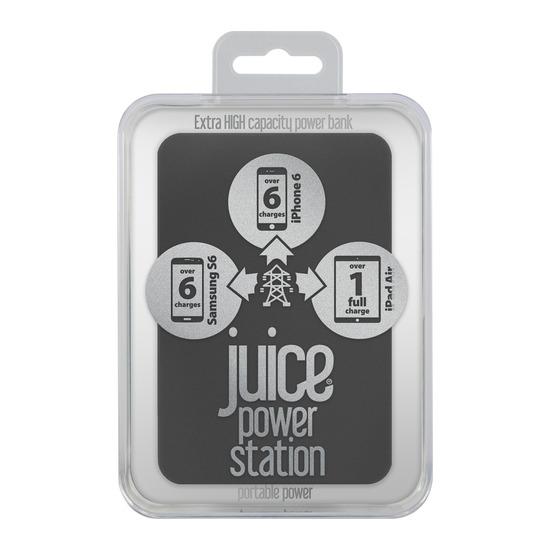 Power Station Portable USB Power Pack - Black