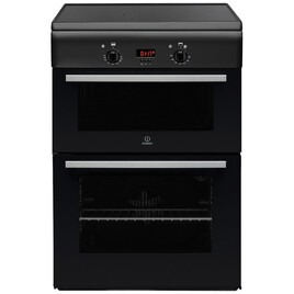Indesit ID6IVS2A Cooker Freestanding Electric Double Oven Anthracite Reviews