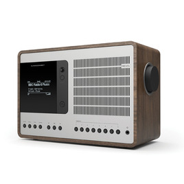 Revo SuperConnect DAB Internet Radio With Spotify - Walnut / Silver