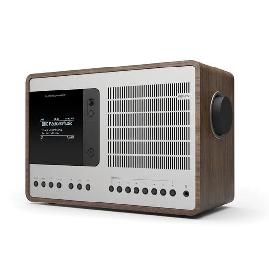 Revo SuperConnect DAB Internet Radio With Spotify - Walnut / Silver