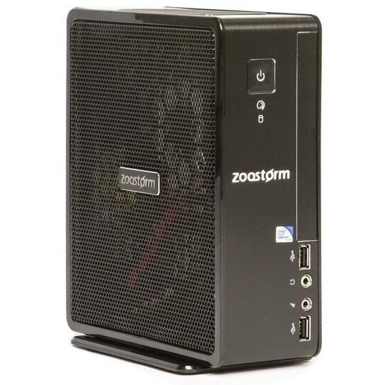 Zoostorm USFF Desktop PC Intel Celeron 1037U 1.8GHz 4GB RAM 500GB HDD No-DVD Intel HD Windows 10 Home - 7260-0140
