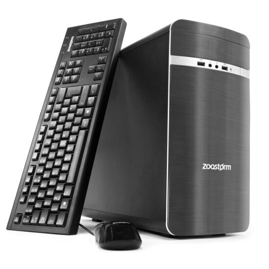 Zoostorm Desktop PC AMD A10 7700K 3.4GHz 8GB RAM 2TB HDD DVDRW AMD Windows 10 Home - 7260-0147