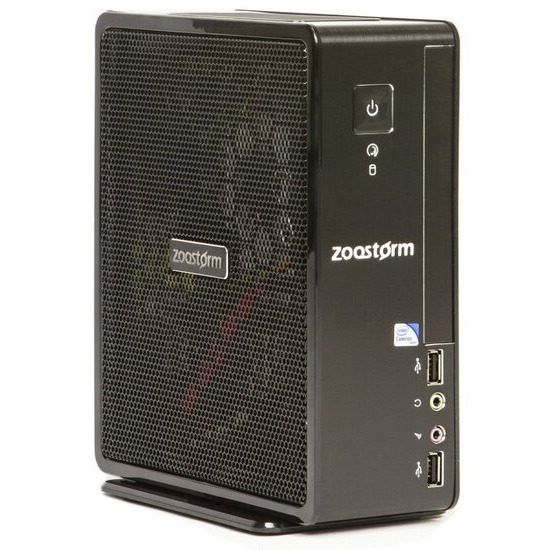 Zoostorm USFF Desktop PC Intel Celeron 1037U 1.8GHz 4GB RAM 500GB HDD No-DVD Intel HD No Operating System