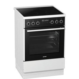Gorenje EI647A21W2 496936 60cm Wide Electric Cooker With Multifunction Oven And Induction Hob White Reviews