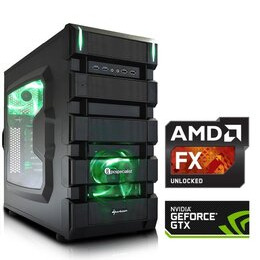 PC Specialist Fusion Marauder XT Gaming PC, AMD Quad Core FX 4300 3.8GHz, 8GB RAM, 1TB HDD, 240GB SSD, DVDRW, NVIDIA GTX 970, Windows 10 Home 64bit Reviews