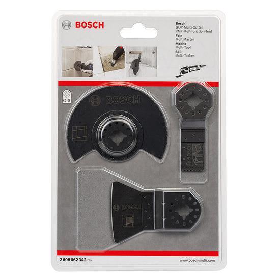 Bosch 2608662342 3 Piece Tile Set