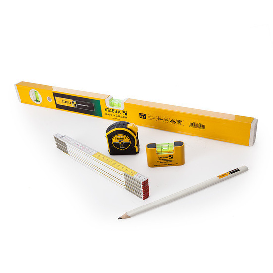 Stabila 18521/3 Spirit Level Set 5 in 1