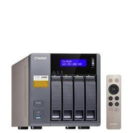 QNAP TS-453A-4G 20TB (4 x 5TB WD RED) 4 Bay NAS Unit with 4GB RAM