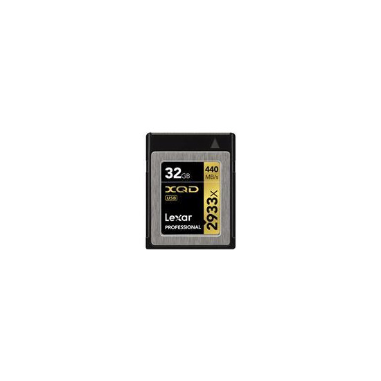 32GB Professional 2933X XQD 2.0 Memory Card