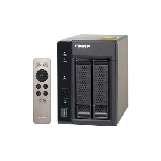 QNAP TS-253A-8G 2 Bay NAS Enclosure with 8GB RAM