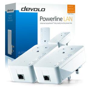 Photo of Devolo 1200+ WiFi Ac Starter Kit Network Switch