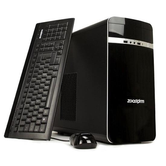 Zoostorm Desktop PC AMD A10 7850K 3.7GHz 16GB RAM 2TB HDD DVDRW AMD Windows 10 Home - 7260-0148