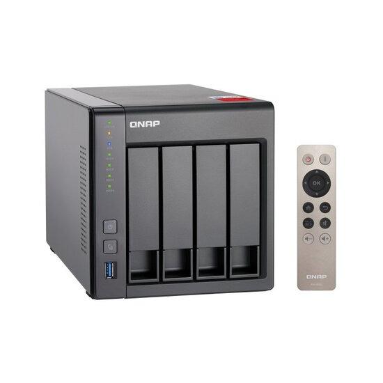 QNAP TS-451+-2G 4TB (4 x 1TB WD RED)