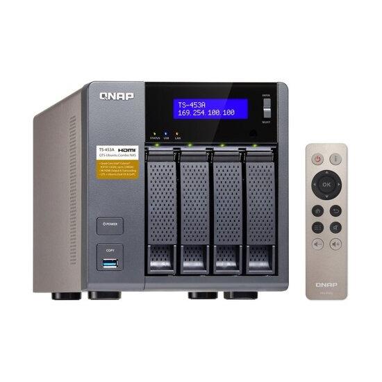 QNAP TS-453A-4G 24TB (4 x 6TB WD RED) 4 Bay NAS Unit with 4GB RAM