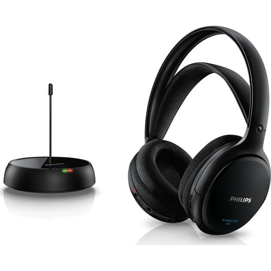 Philips SHC5200/10 Wireless Headphones - Black