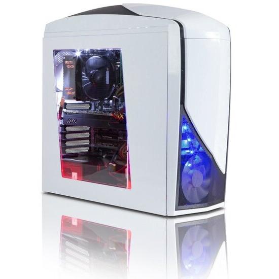 Zoostorm Gaming Desktop PC Intel Core i5-6600K 3.5GHz 16GB RAM 2TB HDD 120GB SSD DVDRW NVIDIA GTX-980 Windows 10 Home