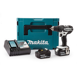 Makita DHP482RFWJ Combi Drill 18V Cordless LXT Li-ion White 2 x 3.0Ah Batteries Reviews