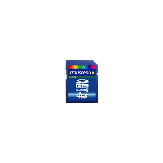 Transcend 4GB SDHC card