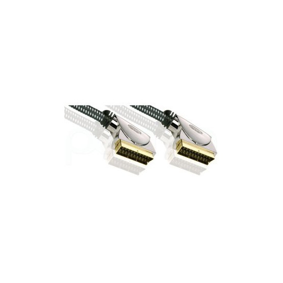 Profigold High Definition Oxypure 3m SCART to SCART cable.
