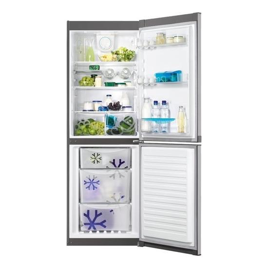 Zanussi Frost Free stainless steel fridge freezer ZRB32313XA