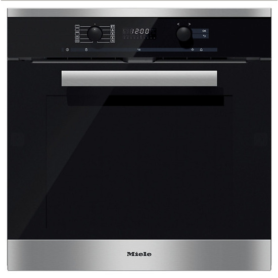 Miele Single oven Electric Colour Cleansteel h6260bp clst