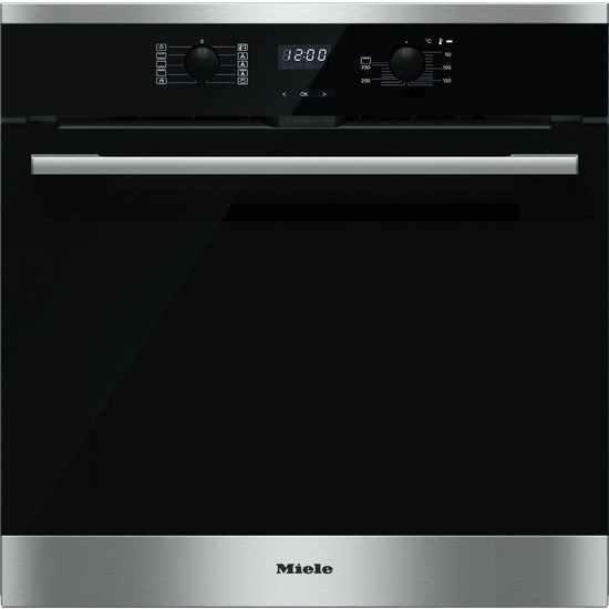 Miele Single oven Electric Colour Cleansteel h2561bp clst