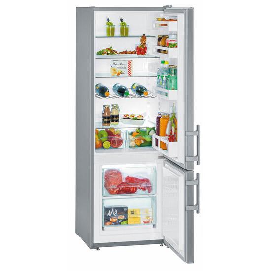 Liebherr - Fridge Freezer - Colour Stainless Steel Door - cuef2811