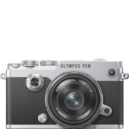Olympus PEN-F inc 17mm f1.8 Lens Kit - Silver/Black Reviews