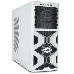 Photo of Zoostorm Gaming Desktop PC, Intel Core I3-6100 3.7GHZ, 8GB RAM, 2TB HDD, DVDRW, NVIDIA GTX-950, No Operating System Desktop Computer