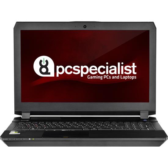 PC Specialist Defiance II 15.6 Gaming Laptop Black