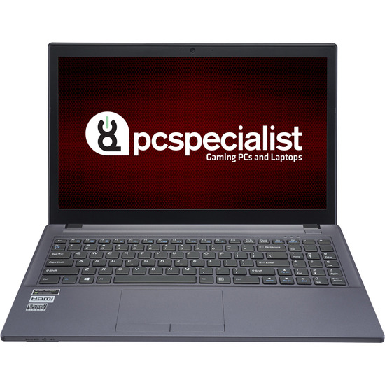 PC Specialist Cosmos IV 15.6 Gaming Laptop Black