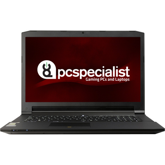 PC SpecialistOptimus VII 17.3  Gaming Laptop Black