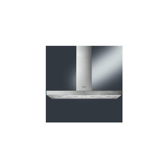 Smeg KAT1200HXE T-shape 120cm Stainless Steel Chimney Cooker Hood