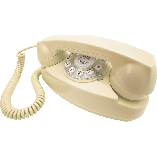 Princess Corded Phone - Cream