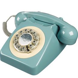 746 Corded Phone - French Blue Reviews