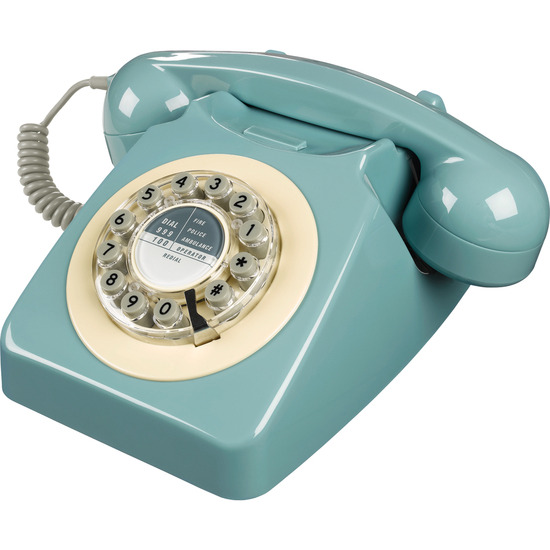 746 Corded Phone - French Blue