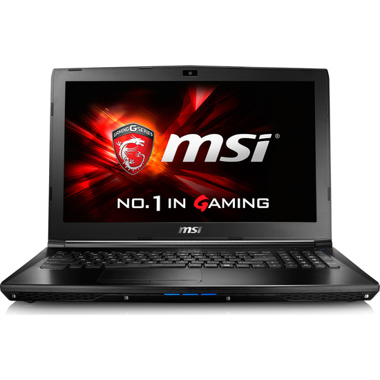 MSI GL62 6QD 15.6 Gaming Laptop Black