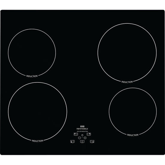New World NWUHT601 Electric Induction Hob - Black