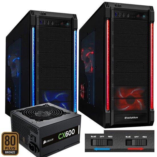 Freshtech Intel Core I5 4460 1tb 8gb 1600Mhz GTX 970 4gb Galaxy R Computer Windows 7 PC