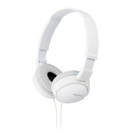 Sony MDRZX110W Overhead Headphones - White